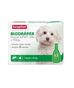 Beaphar biodråper til liten hund