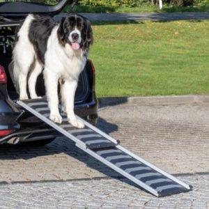 Trixie Petwalk Telescope Sammenleggbar Bilrampe for hund og katt 40 x 170cm