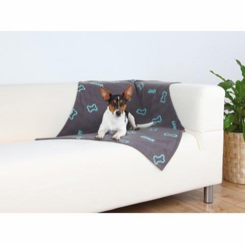 Trixie Beaney Fleeceteppe til Hund Brun 100 x 70 cm