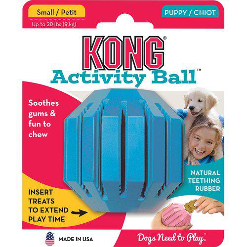 kong activity ball hundeleke valp