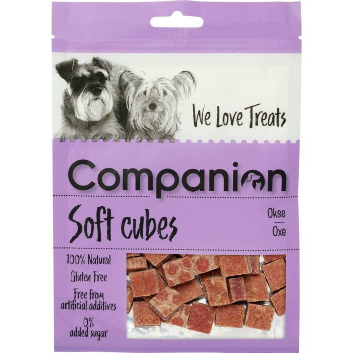Companion soft snacks hund, 80gram