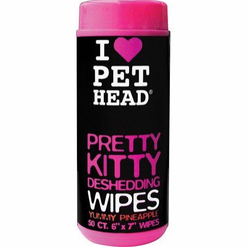 Pet Head Pretty Kitty Wipes 50 pk