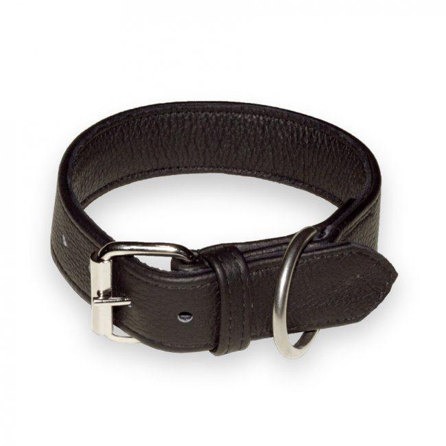 julius k-9 eco leather collar halsbånd lær
