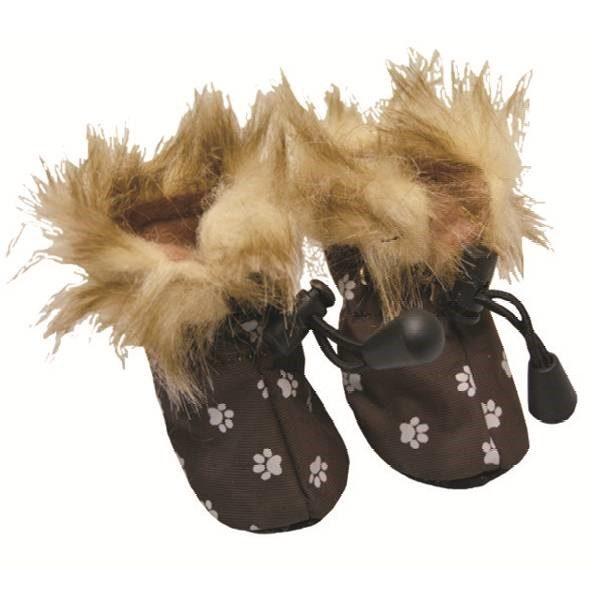 Mini sko m pels 2pk