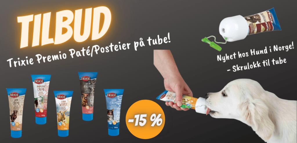 15% rabatt på Trixie Premio Paté/Posteier fra Hund i Norge