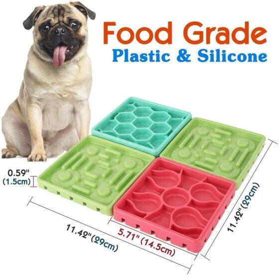 4-1 Multi slikkematte-Slowfeeder til hund