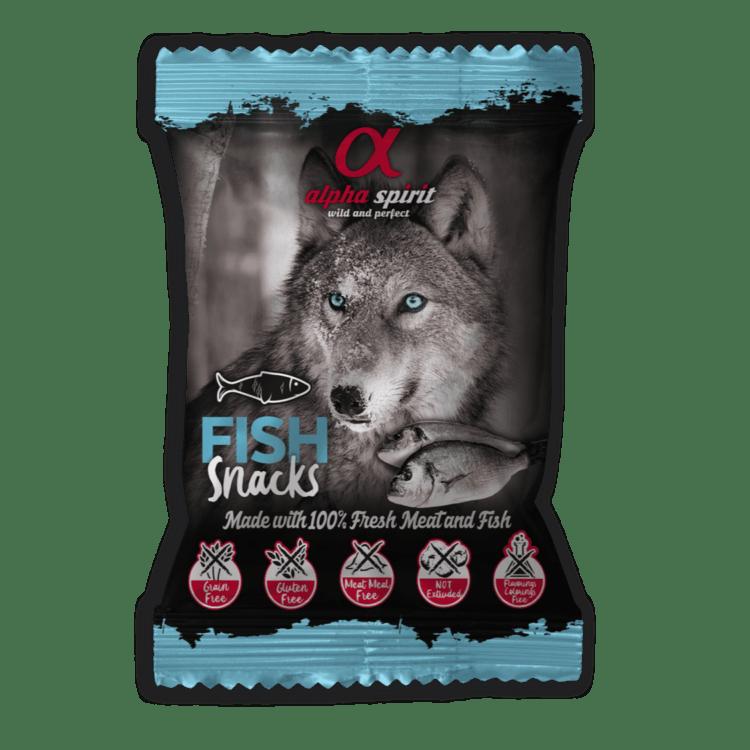 AlphaSpirit fisk hundesnacks