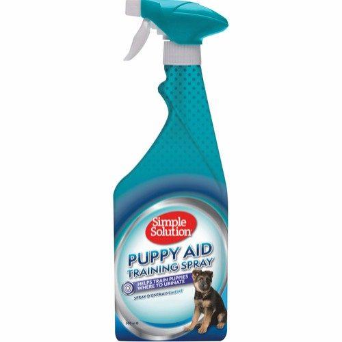 simple solution puppy aid training spray tissespray