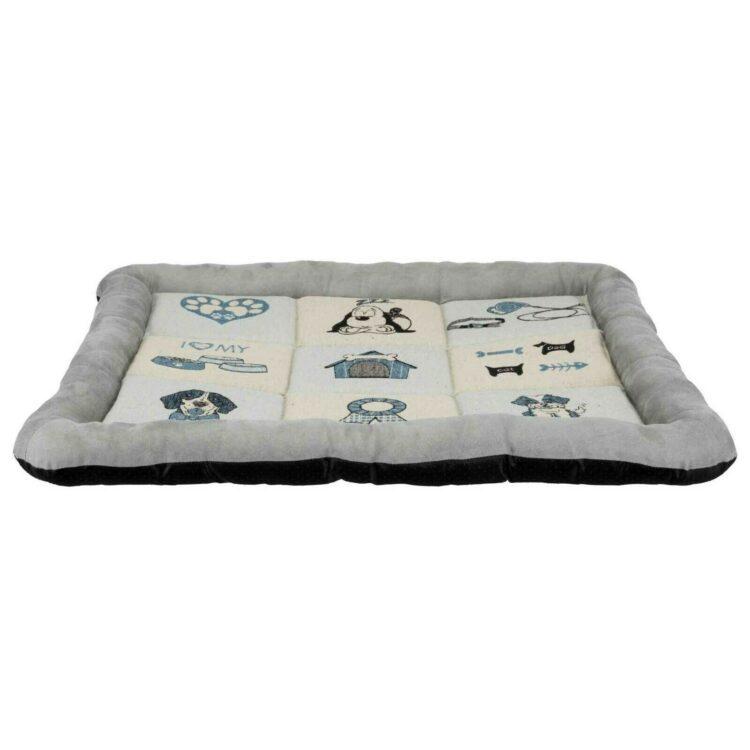 Lappeteppe madrass 75 × 60 cm, grå