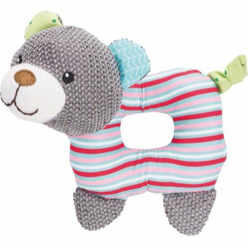 trixie junior puppy toy bear bamseleke valp