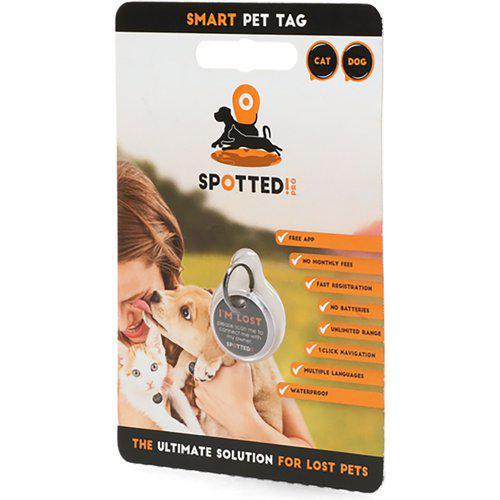 Spotted! -Hund-katt ID merke QR kode