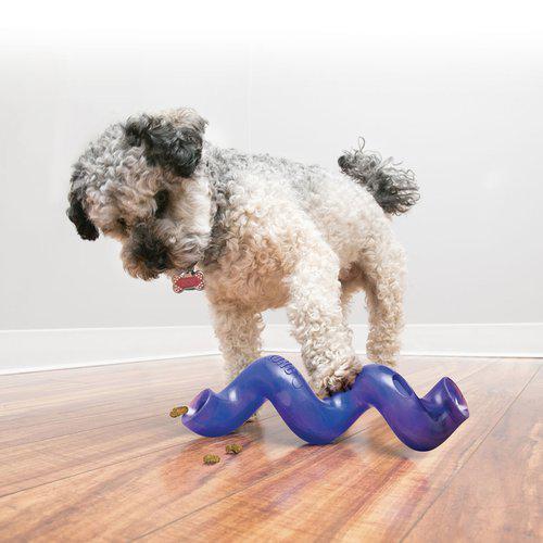 kong spiral stick aktivitetsleke hjernetrim hund