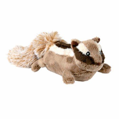 trixie chipmunk dog toy hundeleke plysj
