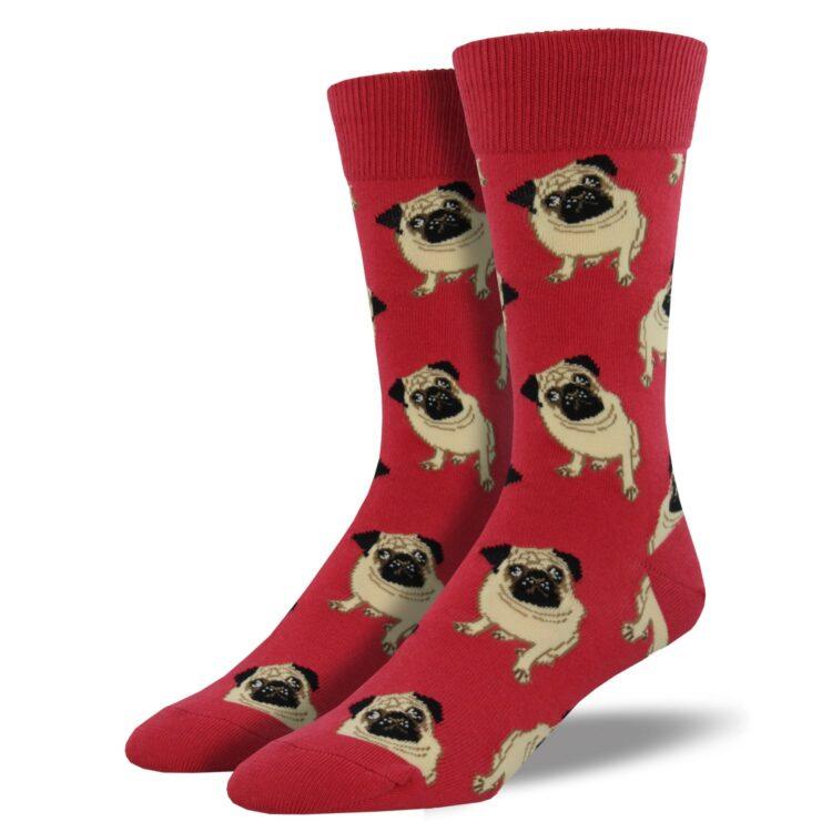 Funny dog bomulls sokk